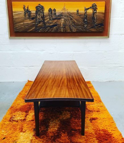 Classic Mid Century Richard Hornby Two-Tier Coffee Table
