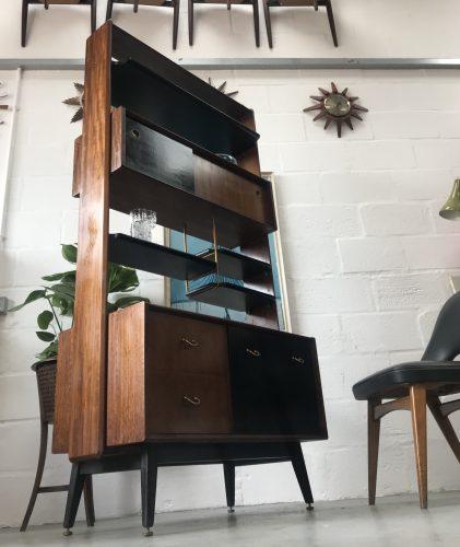 Mid Century 1960s G Plan 'Librenza' Room Divider / Wall Unit