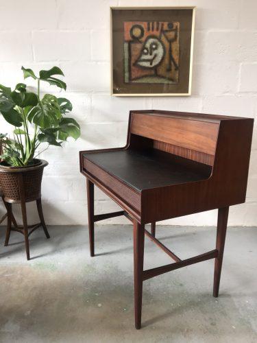Stylish Vintage Mid Century Teak RICHARD HORNBY Desk / Bureau / Secretaire