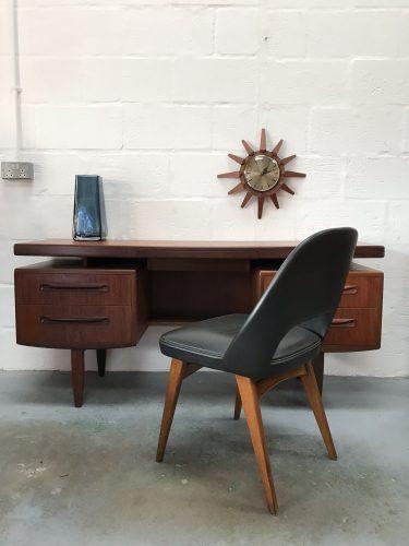 Classic 1960s G PLAN FRESCO Floating Top Desk / Dressing Table