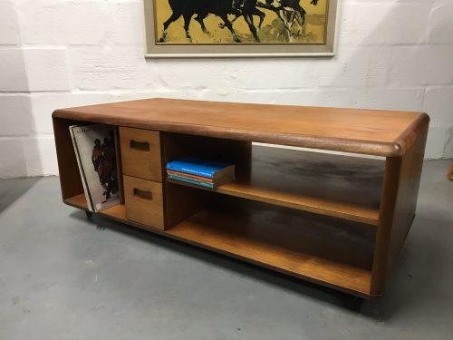 Retro Record TV Media Unit Cabinet or Coffee Table