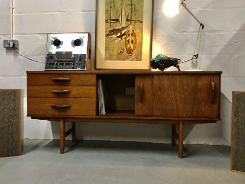 Vintage 1960s Avalon Sideboard Mid Century