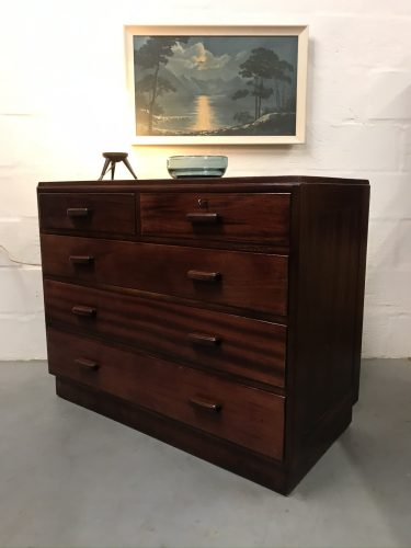 Vintage 1950s Mid Century A H Mcintosh Chest of Drawers