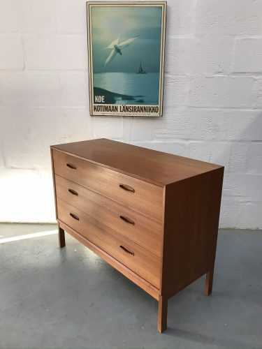 Mid Century Nils Jonsson for Troeds Chest of Drawers Vintage