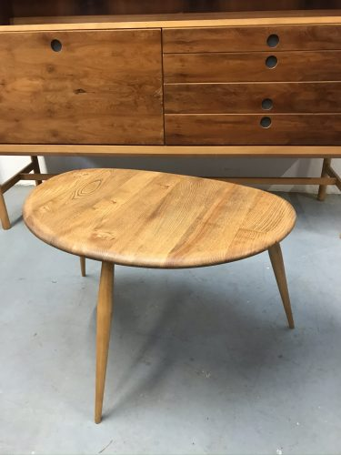 Large 1960s ERCOL Pebble Table