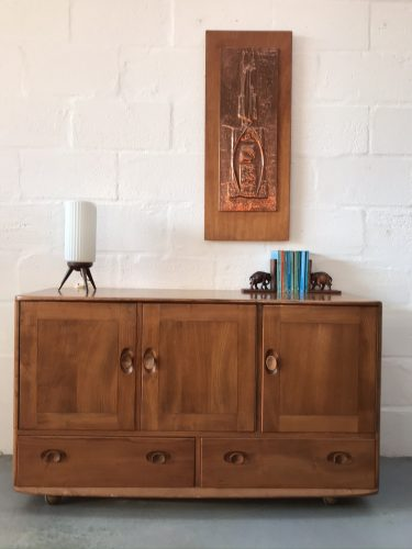 Vintage 1960s Stylish Windsor Sideboard By Ercol 468