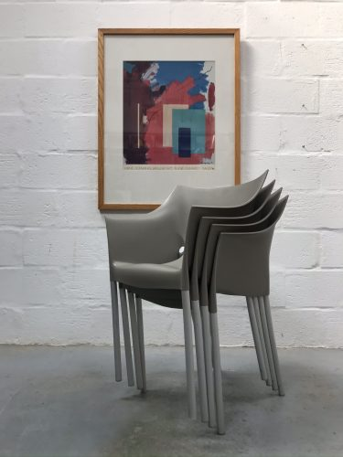 Set of 4 1990s Dr. No Armchairs by Phillipe Starck for Kartell