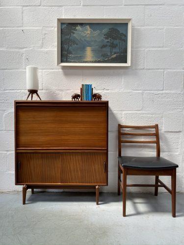 Vintage 1960s Teak Bureau by Robert Heritage for Beaver Tapley