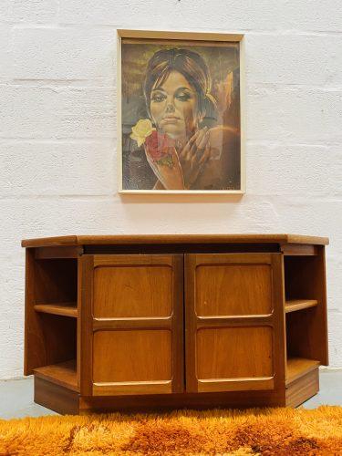 Retro Vintage Nathan Furniture TV Unit 1970s / 1980s