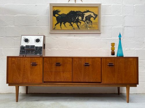 Nathan Furniture 'Corinthian' 1960s Teak Vintage Sideboard