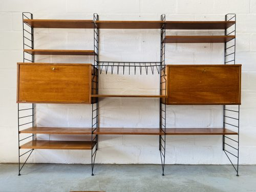 1960s Mid Century Shelving Unit by Brianco