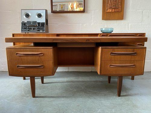 G PLAN FRESCO Floating Top Desk / Dressing Table Vintage