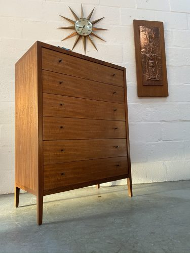 Mid Century Tallboy / Chest of Drawers by Loughborough Furniture