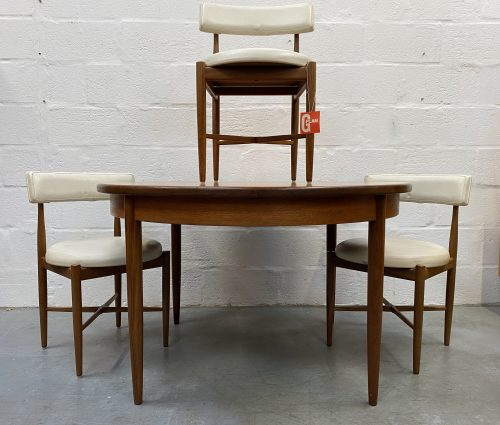 Vintage G Plan Fresco Dining Table and 3 Chairs