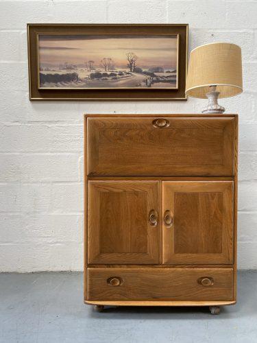 Vintage Windsor Ercol Serving Cabinet Model 469