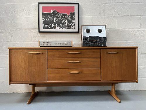 Vintage Mid Century 1960s Austinsuite Teak Sideboard