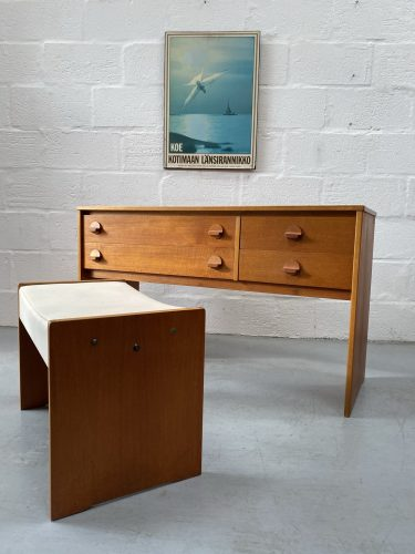 Mid Century Stool by Ron Carter for Stag