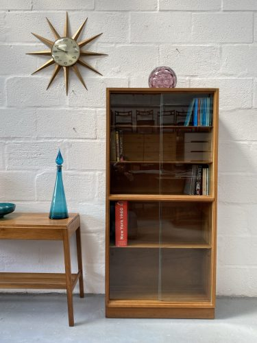 Mid Century Book / Display Cabinet by Morris of Glasgow