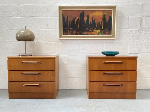 Matching Pair of Meredew Bedside Cabinets