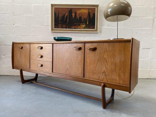 Retro 1960s Teak Sideboard By Portwood Furniture