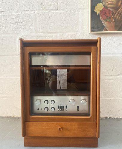 1970s Nathan Furniture Teak HiFi Unit / Storage Unit Retro
