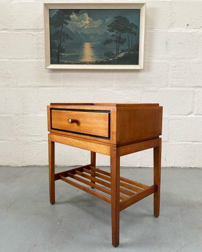 Vintage 1950s Loughborough Bedside / Side Table for Heals
