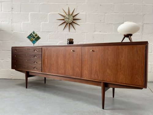 Mid Century Long 'Hamilton' Sideboard by Robert Heritage for Archie Shine