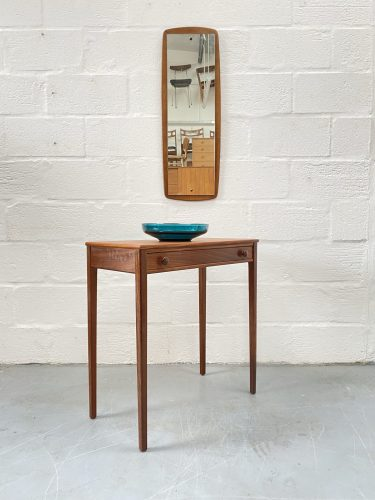 Mid Century Teak Console Table / Hall Table by Younger