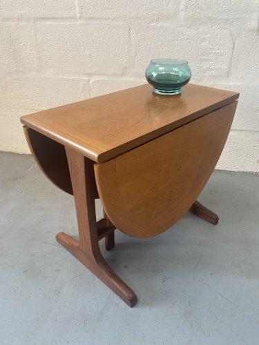 Vintage Retro Nathan Teak Drop-leaf Occasional Coffee Table