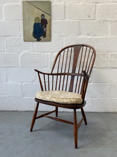 Vintage Ercol Windsor 'Chairmakers' Chair