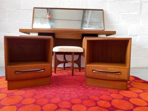 Pair Of Retro G Plan 'Fresco' Bedside Cabinets