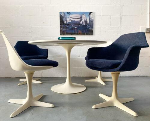 Mid Century Arkana 'Tulip' Dining Table & Four Chairs