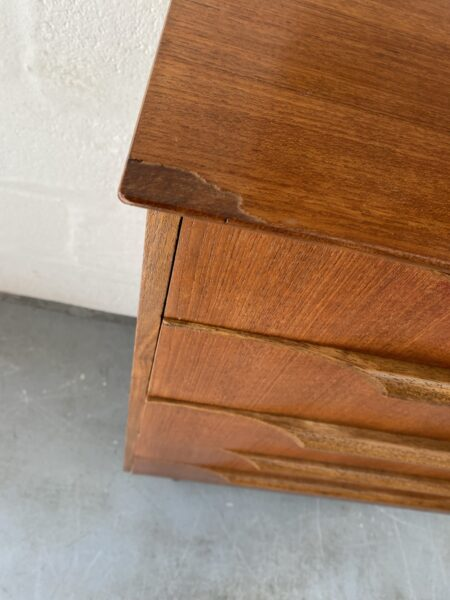 Chest of 5 Drawers in Teak by Beeanese, 1960s