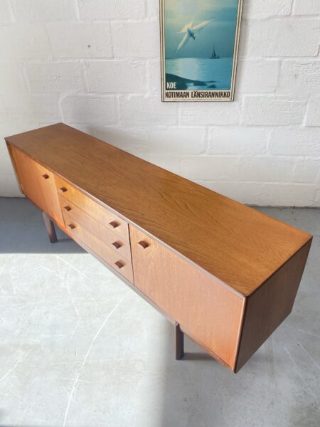 1960s Teak Sideboard by White & Newton of Portsmouth