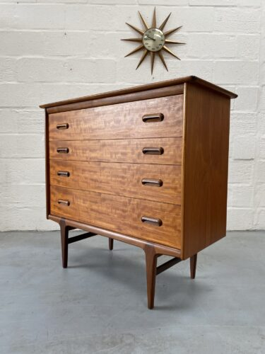 Mid Century 'Codan' Chest Of Four Drawers By John Herbert For Younger
